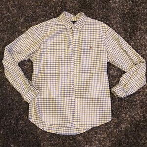 Men's button up polo
